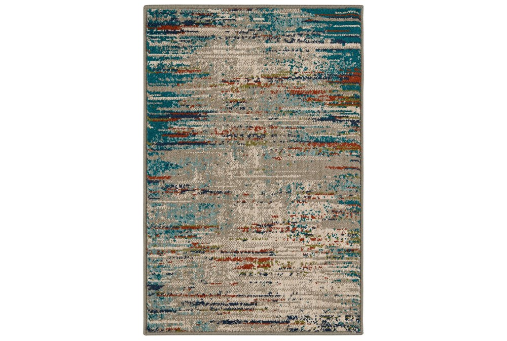 24X36 Rug-Gradient Blizzard Blue