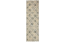 24X36 Rug-Ornate Tapestry Grey