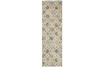 24X36 Rug-Ornate Tapestry Grey