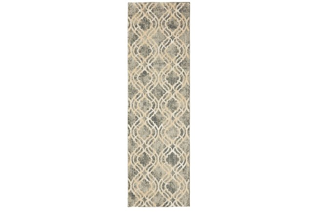 24X36 Rug-Ornate Tapestry Grey - 360