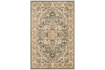 63X94 Rug-Ornate Tapestry Grey