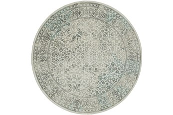 96 Inch Round Rug-Ambient Natural