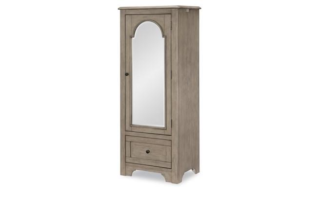 Mckinney Mirrored Door Chest - 360